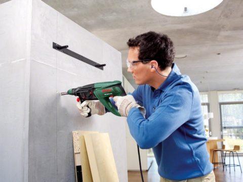 Крепёж в бетонную стену