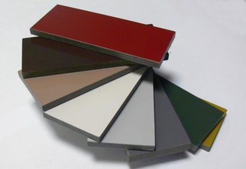 Прочные и яркие плиты для облицовки