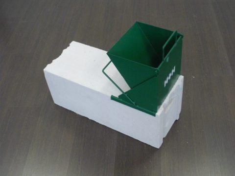 Ширина каретки должна соответствовать толщине блоков