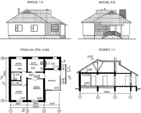 Типовые проекты содержат документацию по каждому этапу строительства, чертежи, спецификации материалов. А их привязка к строительной площадке обходится недорого