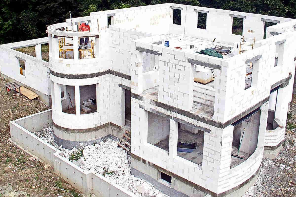 дома из газобетона технология строительства