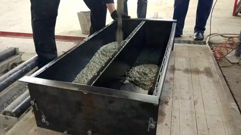 Заливается бордюр из бетона своими руками