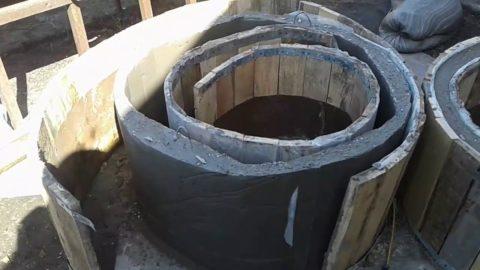 Самодельное бетонное кольцо