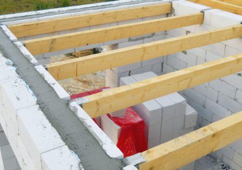 Идеальное решение: балочное межэтажное перекрытие на стены газобетонные