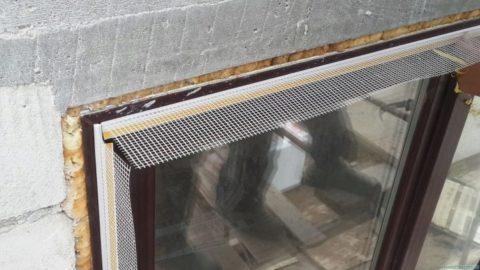 Профиль для обхода окна